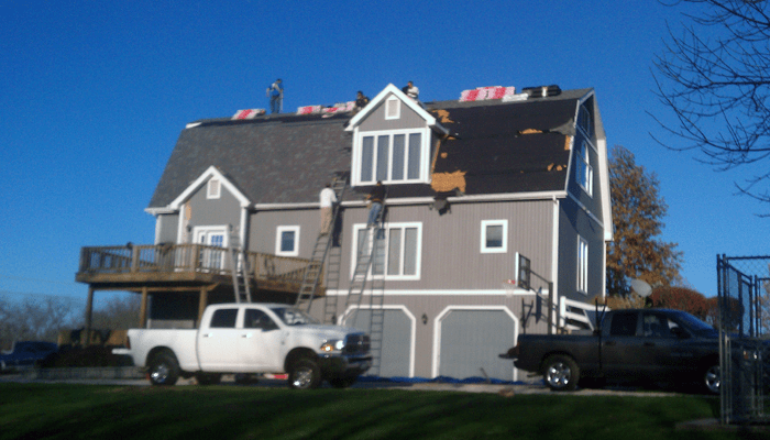 mansard-roofing-job