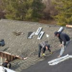 architectural shingle installation