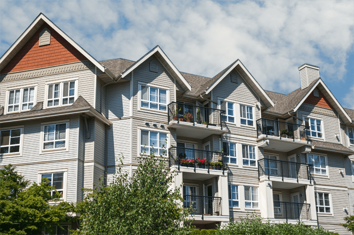 Apartment Complex Roofs