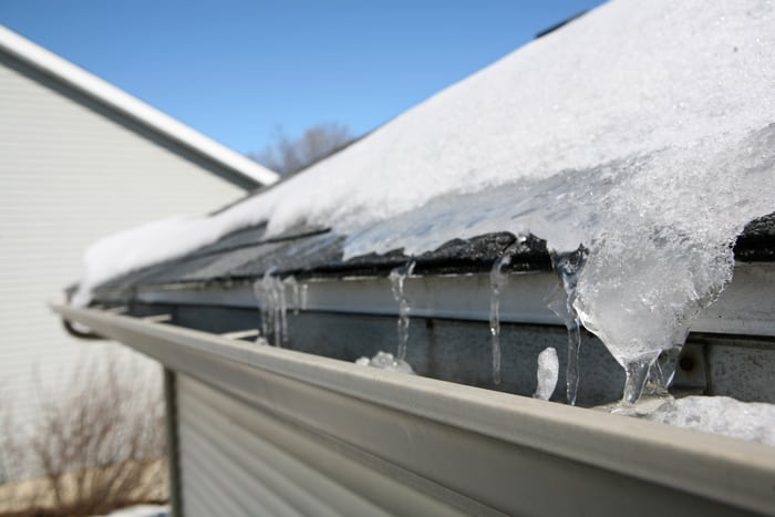 Roof Ice Damage